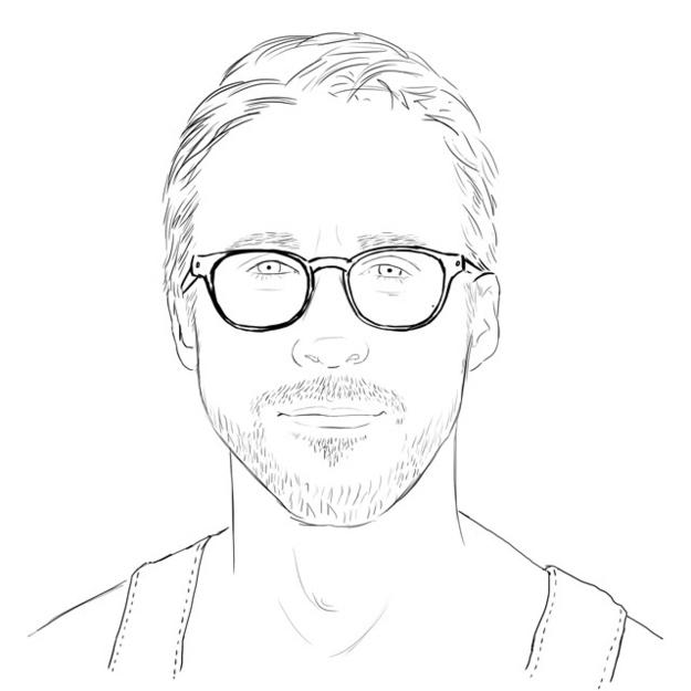 Cómo no lo pensamos antes? Un libro para colorear de Ryan Gosling ...