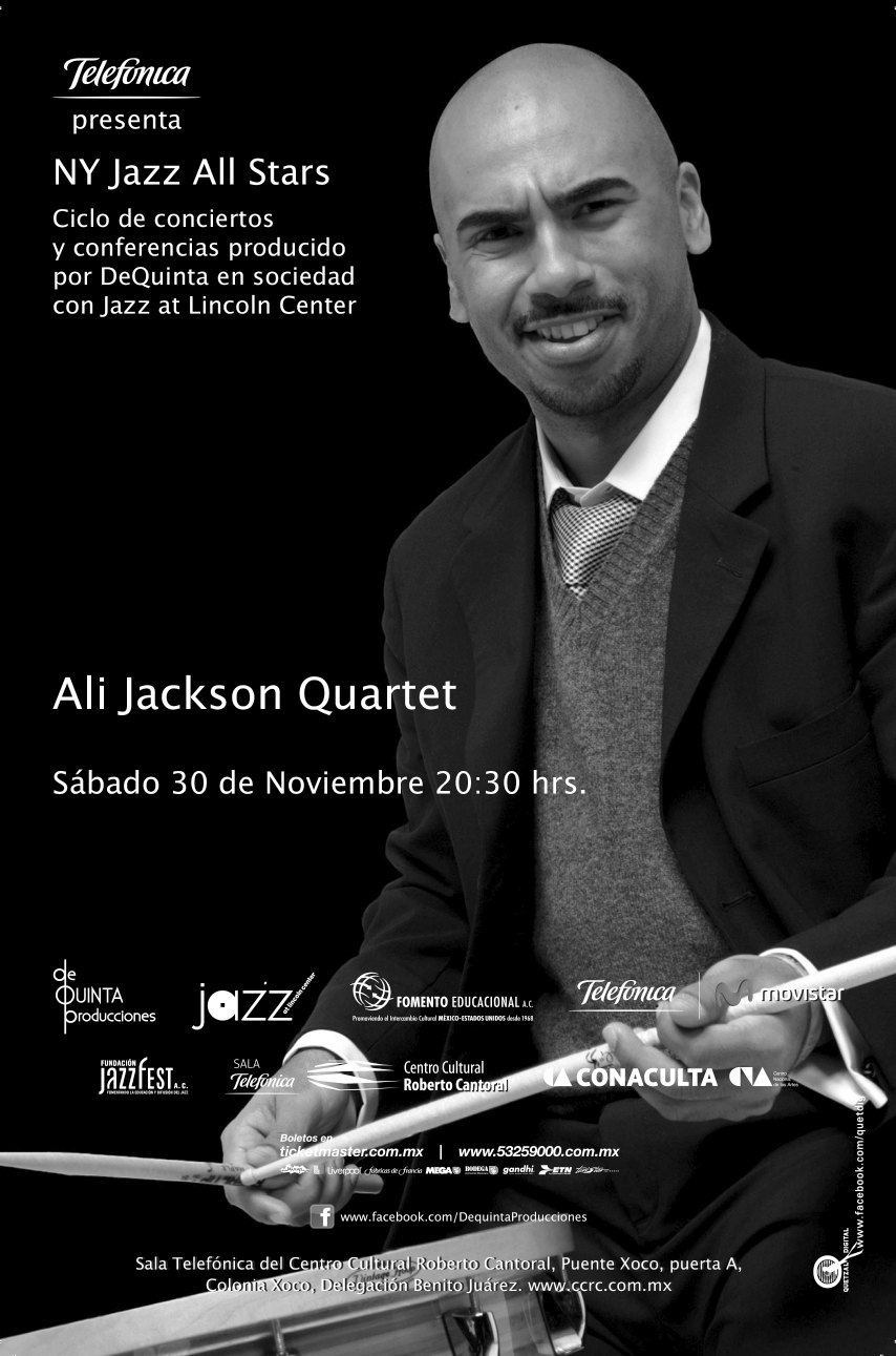 FLAYER VUELTA Ali Jackson ok