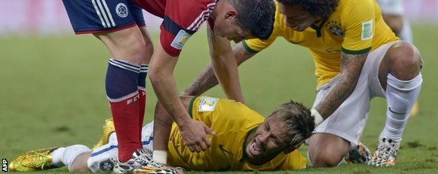 neymar grita