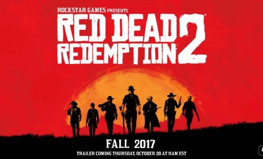 ROCKSTAR GAMES confirma RED DEAD REDEMPTION 2
