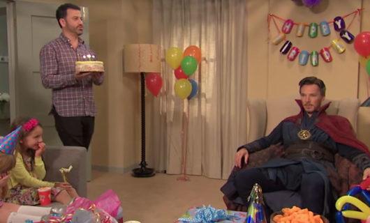 Jimmy Kimmel contrata a Dr STRANGE para una fiesta de niños