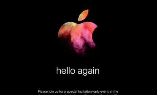 """Apple dice """"Hola otra vez"""" en la invitación para su nuevo Keynote"""